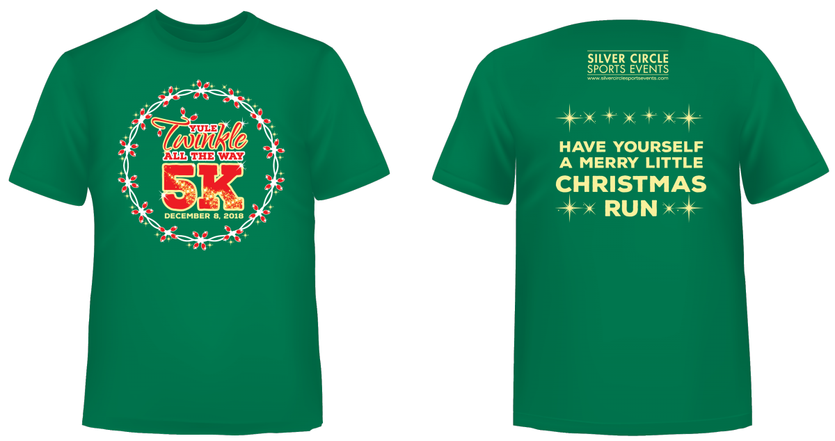 Yule Twinkle All The Way 5K   Silver Circle Sports Events